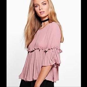 NWT - Dusty rose top
